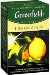 Чай Greenfield Lemon Spark 25х1.5г (черный)