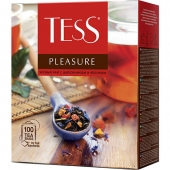 Чай Tess Pleasure 100х1.5г (черный)