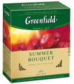 Чай Greenfield Summer Bouquet 100х2г (травяной)