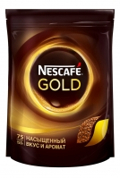 "Кофе натуральный растворимый сублимированный ""Nescafe Gold"" (пакет), 150 г"