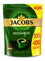 Кофе Jacobs Monarch, растворимый, 400 г
